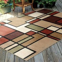 Carolina Weavers Bermuda Collection Pier Multi Area Rug (5'2 x 7'6) - 5'2 x 7'6