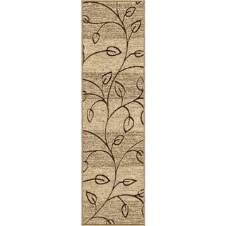 Indoor/ Outdoor Napa Stonebrooke Beige Rug (2'3 x 8')