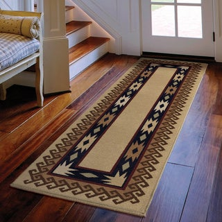 Carolina Weavers Nativity Collection Explorer Beige Runner (2'3 x 8')