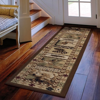 Cherokee Big Spring Brown Rug (2'3 x 8')