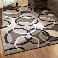 Carolina Weavers Finesse Collection Lapel Multi Area Rug - 5'3 x 7'6