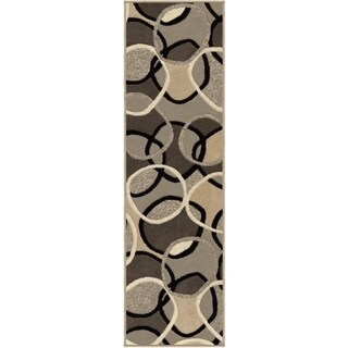 Carolina Weavers Finesse Collection Lapel Multi Runner (2'3 x 8')