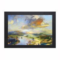 Jeffrey Beauchamp 'Frosted Sonoma' Framed Artwork