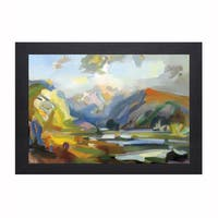 Jeffrey Beauchamp 'View That Startled Grieg' Framed Artwork