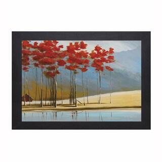 """Thomas Andrew """"Red House"""" Framed Artwork"""