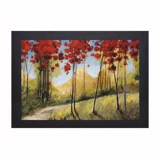 Thomas Andrew 'Forest Trail' Framed Artwork