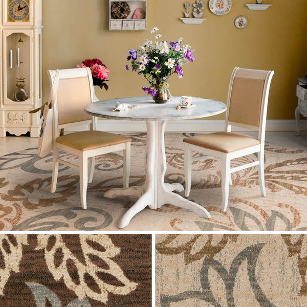Doraville Floral Area Rug 8 Round Free Shipping Today