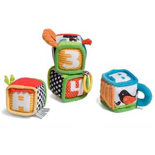 Infantino Discover and Play Soft Blocks