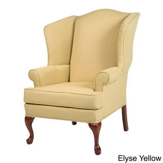 Greyson Living Elyse Wingback Paisley Print Accent Chairs