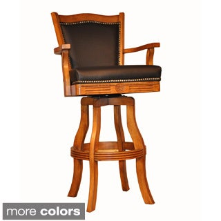 Delicieux Whitaker Furniture Classic Leather Bar Stool