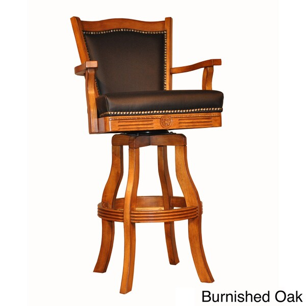 Shop Whitaker Furniture Classic Leather Bar Stool