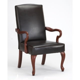 Canton Leather Accent Chair by Greyson Living