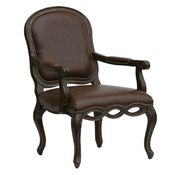 Living Room Chairs For Sale: Shop Beaufort Hand-carved Accent Chair By Greyson Living