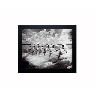 The Chelsea Collection 'Water Ski Parade' Framed Artwork
