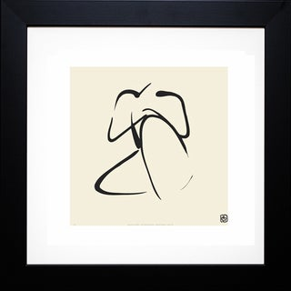 Ty Wilson 'Female, Pose 2' Framed Artwork