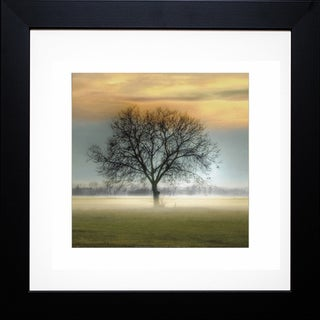 Steven Mitchell 'Misty Silhouette' Framed Artwork