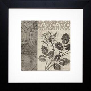 Paula Scaletta 'Flora Antiqua I' Framed Artwork
