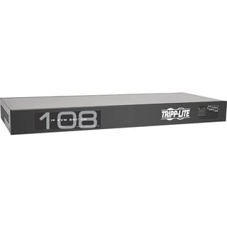 Tripp Lite 8-Port IP Cat5 KVM Switch Compact 1+1 User Rackmount