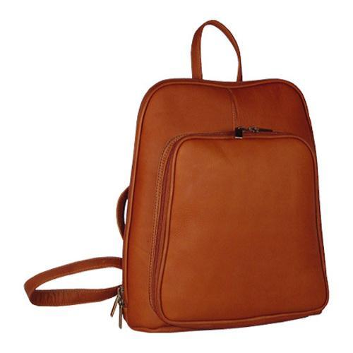 David King Leather 324 Backpack Tan