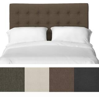 Handy Living Kolmar Button Tufted Full/ Queen Upholstered Headboard|https://ak1.ostkcdn.com/images/products/9357390/P16549915.jpg?impolicy=medium