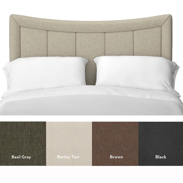 283 Best Images About Fabric Bed Headboards On Pinterest: Portfolio Paden Crescent Shaped King/ California King