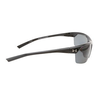 Under Armour Zone 2.0 Storm Shiny Black Sunglasses