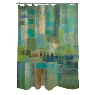 Thumbprintz Seawall Shower Curtain