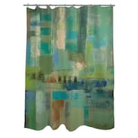 Seawall Shower Curtain