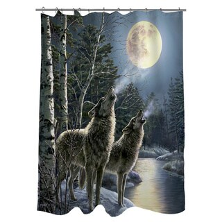 Thumbprintz Howling Shower Curtain