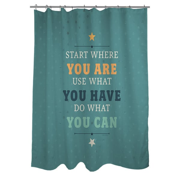 Act Shower Curtain