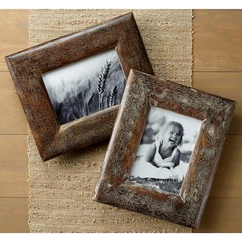 Rustic Wood Frames (Set of 2)