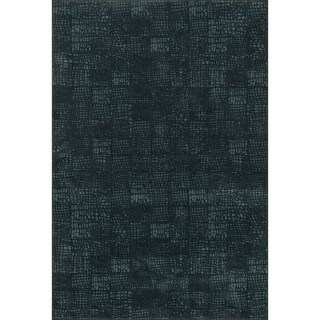Senna Black/ Blue Rug (2'3 X 3'9)