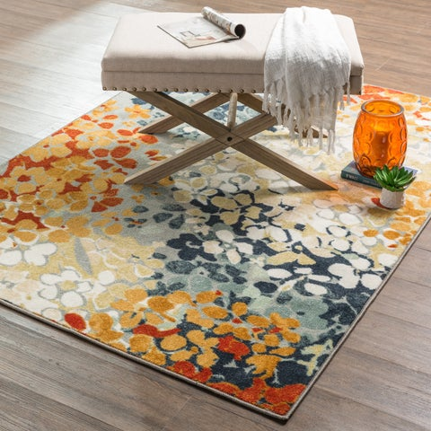 """Copper Grove Bethany Radiance Area Rug - Grey/Gold - 7'6"""" x 10'"""