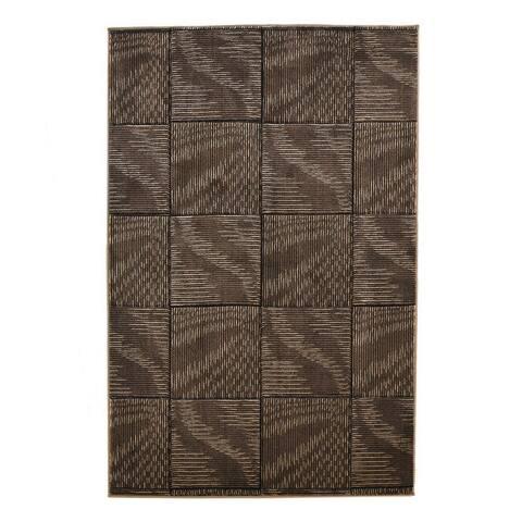 Linon Milan Collection Abstract Area Rug