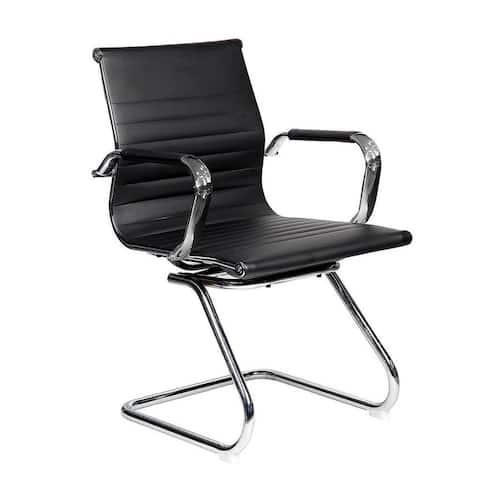 Modern Designs Visitor Task Chrome Office Chair