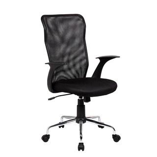 Modern Designs Black Medium Back Mesh Office Chair