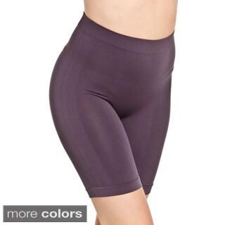 Hot Bottoms Women's Seamless Firm Control Boxer Shaper