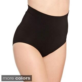 Hot Bottoms Women's Seamless Tummy and Butt Brief Shaper
