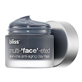 Bliss Multi-'face'-eted All-in-One Anti-aging 2.3-ounce Clay Mask|https://ak1.ostkcdn.com/images/products/9358132/P16550545.jpg?impolicy=medium