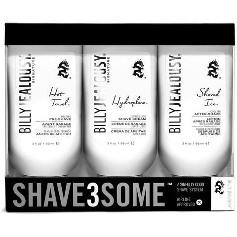 Billy Jealousy Shave3Some 3-piece Shave System - White