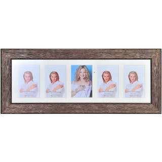 Melannco 5-picture Brown Frame Collage