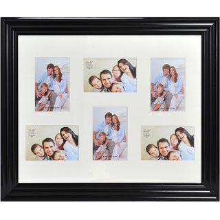 Melannco Black Frame Portrait Collage