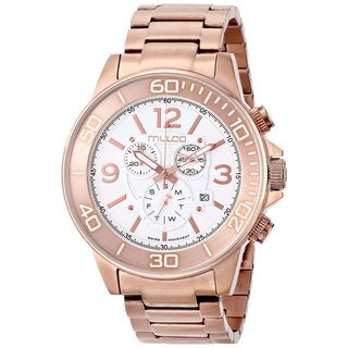 Mulco Men's 'Ferro' Rose gold plated stainless steel Watch