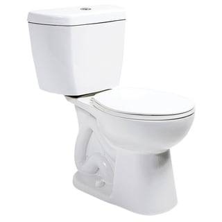 Niagara Stealth White 0.8 GPF Round Bowl and Tank Toilet Combo