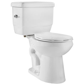 Niagara EcoLogic White 1.28 GPF Round Bowl and Tank Toilet Combo