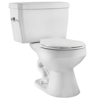 Niagara EcoLogic White 1.6 GPF Round Bowl and Tank Toilet Combo