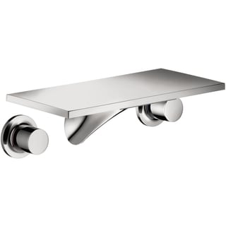 Hansgrohe Axor Massaud Wall-mounted Short Widespread Bathroom Faucet