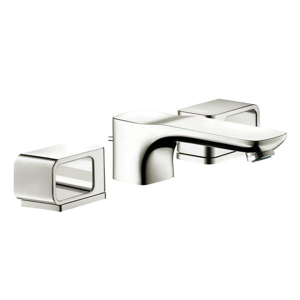 Shop Hansgrohe Axor Urquiola Polished Nickel Widespread Bathroom