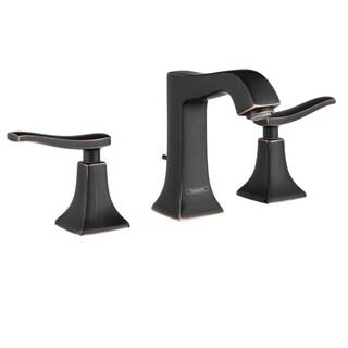 Hansgrohe Metris C Widespread Oil Rubbed Bronze Bathroom Faucet