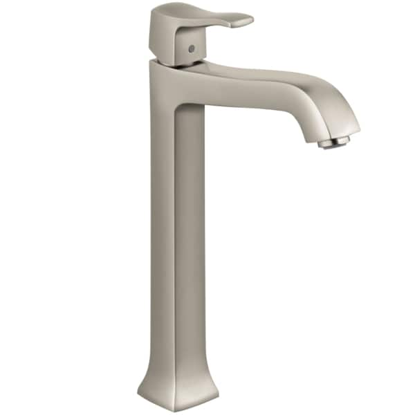 Hansgrohe Metris C Brushed Nickel Tall Faucet